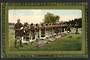 Coloured postcard of Maori Cooking at Hot Springs. - 49631 - Postcard