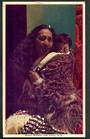 Coloured postcard of Maori Mother and Child. - 49649 - Postcard