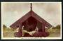 Tinted Real Photograph by A B Hurst & Son of Pataka Maori Foodhouse Rotorua. Adhesion on the reverse. - 49661 - Postcard
