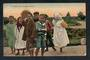 Real Photograph by Hurst of Maori Poi Dancers Rotorua. - 49682 - Postcard