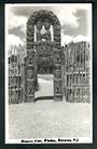Real Photograph by N S Seaward of the Reserve Gate Whakarewarewa. - 49693 - Postcard