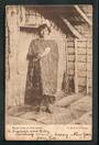 Early Undivided Postcard of Maori Lady in full dress. - 49732 - Postcard
