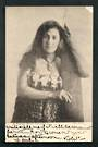 Early Undivided Postcard by Iles of female Maori Canoeist. - 49733 - Postcard