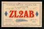 New Zealand ZL2AB Tasman Beach Otaki. 1937. - 49764 - Postcard