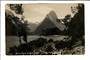 Real Photograph by Radcliffe of Mitre Peak. - 49855 - Postcard