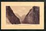 Postcard by Muir & Moodie of The Narrows Milford Sound. - 49859 - Postcard