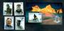TOKELAU ISLANDS 2008 Sir Edmund Hillary. Set of 4 and miniature sheet. - 50027 - CTO