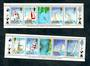 SOLOMON ISLANDS 1987 America's Cup. Twelve miniature sheets each of five stamps(two illustrated) one miniature sheet Stars and S
