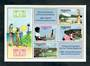 VANUATU 1983 World Communications Year. Miniature sheet. - 50055 - UHM