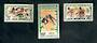 CENTRAL AFRICAN REPUBLIC 1962 Abidjan Games. Set of 3. - 50058 - LHM