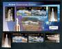 ASCENSION 2003 Ariane Downfange Station. Set of 4 and miniature sheet. - 50126 - UHM