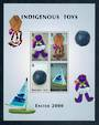 ANGUILLA 2000 Easter 2000 Indigenous Toys. Miniature sheet. - 50137 - UHM
