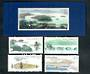 CHINA 1989 West Lake Hangzhou. Set of 4 and miniature sheet. - 50143 - UHM