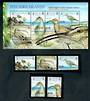 PITCAIRN ISLANDS 2005 Bristle-Thighed Curlew. Set of 5 and miniature sheet. - 50171 - UHM