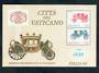 VATICAN CITY 1985  Italia '85 International Stamp Exhibition. Miniature sheet. - 50175 - UHM
