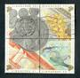 SINGAPORE 1992 25th Anniversary of the Currency of Singapore. Block of 4. - 50192 - Used