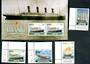 IRELAND 1999 Maritime Heritage. Set of 4 and miniature sheet. - 50197 - UHM