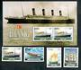 IRELAND 1999 Maritime Heritage. Set of 4 and miniature sheet. - 50198 - VFU