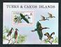 TURKS & CAICOS ISLANDS 1980 Birds. Miniature sheet. - 50219 - Mint