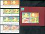 THAILAND 1999 Bangkok 2000 International Stamp Exhibition. Youth theme. Set of 4 and miniature sheet. - 50228 - UHM