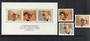 WEST GERMANY 1978 Nobel Prize for Literature. Set of 3 and miniature sheet. - 50234 - UHM