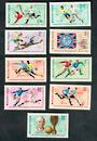 HUNGARY 1966 World Cup Football Championships. Second series. Set of 9. - 50237 - UHM