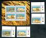 NAMIBIA 1998 Large Wild Cats. Set of 4 and miniature sheet. - 50245 - UHM