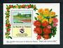 FRANCE 1994 European Stamp Salon Flower Garden. Second series. Miniature sheet. - 50247 - UHM