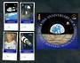 KIRIBATI 1999 30th Anniversary of the First Manned landing on the Moon. Set of 4 and miniature sheet. - 50260 - VFU