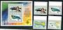 KIRIBATI 1999 20th Anniversary of Independence. Set of 4 and miniature sheet. - 50261 - VFU
