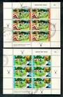 NEW ZEALAND 1971 Health  Set of 2 miniature sheets. - 50293 - FU