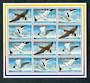 ANTIGUA BARBUDA 1996 Sea Birds. Sheetlet of 12 (3 each of 4 designs). - 50313 - UHM
