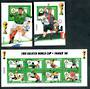 MICRONESIA 1998 Soccer. Three miniature sheets issued for World Cup 1998. - 50315 - UHM