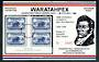 AUSTRALIA 1984 Waratahpex '84 International Stamp Exhibition. Miniature sheet. - 50316 - UHM