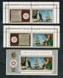 COOK ISLANDS 1976 Bicentenary of the American Revolution. Set of 2 and miniature sheet. Scott 445-447 $US 31.00 - 50321 - UHM