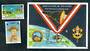TURKS & CAICOS ISLANDS 1992 World Scout Jamborre. Set of 2 and miniature sheet. - 50350 - UHM
