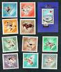 HUNGARY 1964 Olympics. Set of 10 and miniature sheet. - 50368 - UHM