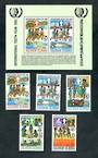 SOLOMON ISLANDS 1985 75th Anniversary of the Girl Guide Movement. Set of 5 and miniature sheet. - 50412 - UHM