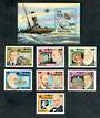 GUINEA-BISSAU 1983 World Communications Year. Set of 7 and miniature sheet. - 50415 - UHM