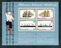 PITCAIRN ISLANDS 1975 Mailboats. Miniature sheet. - 50425 - UHM
