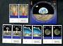 ASCENSION 1999 30th Anniversary of the First Manned landing on the Moon. Set of 4 and miniature sheet. - 50479 - VFU