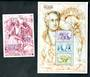 LESOTHO 1999 250th Birth Anniversary of Johann von Goethe. Sheetlet of 3 and miniature sheet. - 50487 - UHM
