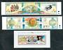 COOK ISLANDS 1992 Olympics. Set of 6 in strips and miniature sheet. - 50499 - UHM
