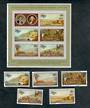 NIUE 1978 Bicentenary of the Discovery of Hawaii. Set of 4 and miniature sheet. - 50501 - UHM