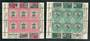 SOUTH AFRICA 1936 Johannesburg International Stamp Exhibition. Set of 2 miniature sheets. - 50508 - Mint
