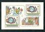 CZECHOSLOVAKIA 1982 United Nations Conference re Outer Space. Miniature sheet. - 50564 - UHM