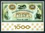 BRAZIL 1976 Opening of the Bank of Brazil's One Thousandth Branch. Miniature sheet. - 50575 - UHM