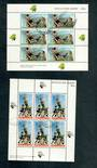 NEW ZEALAND 1970 Health. Set of 2 miniature sheets. - 50602 - FU