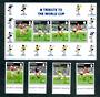 GIBRALTAR 1996 European Cup Football Championships.Set of 4 and miniature sheet. - 50603 - UHM