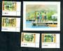 DOMINICA 1979 50th Anniversary of the Girl Guides. Set of 4 and miniature sheet. - 50605 - UHM